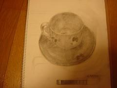 ティーカップ(お皿つき)