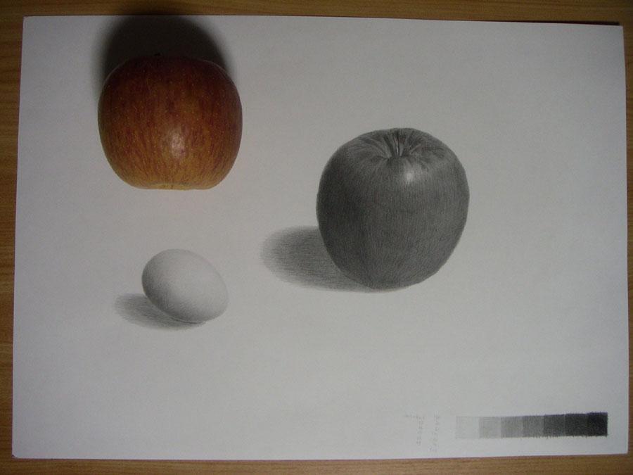 リンゴと卵08