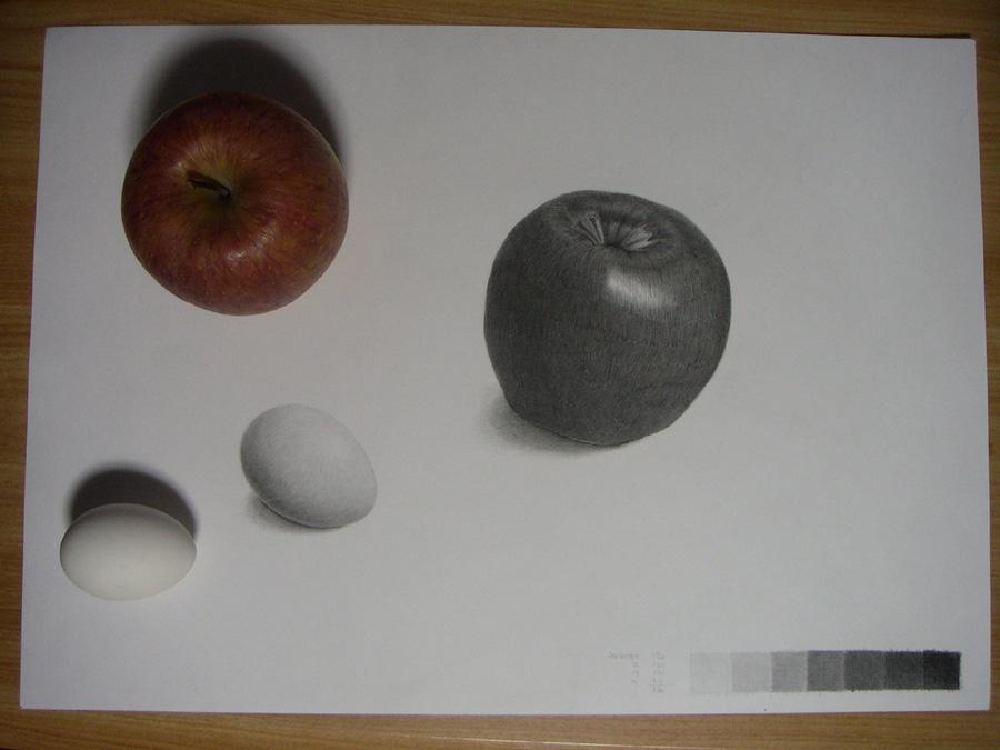 リンゴと卵09