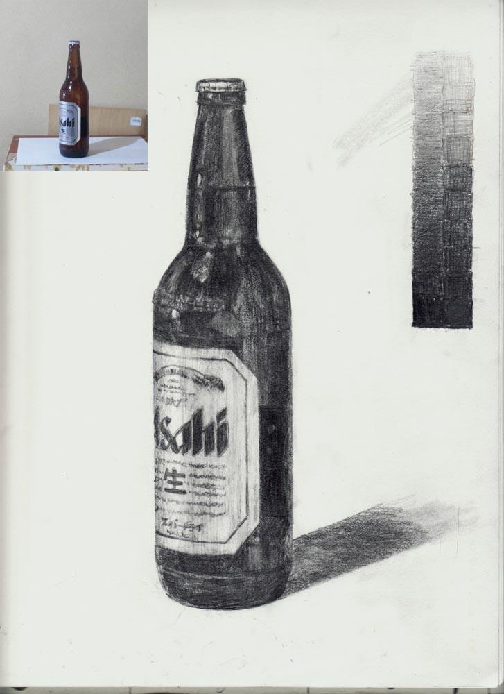 ビール瓶(アサヒ)