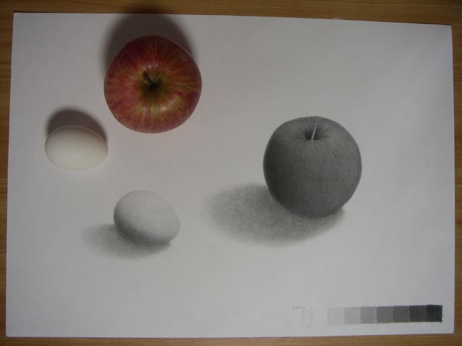 リンゴと卵11