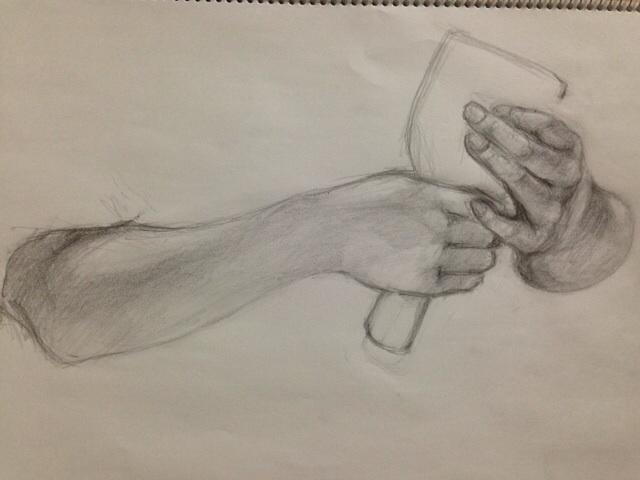 7才娘の手