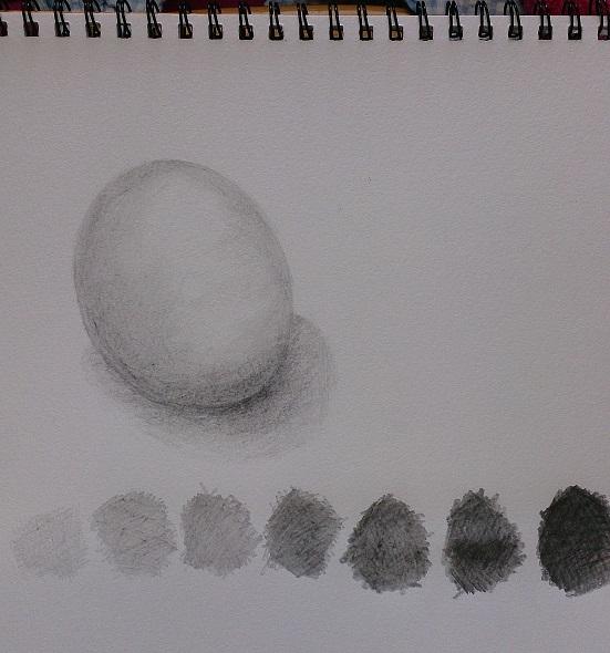白い卵(二回目)