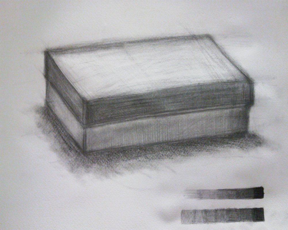 白無地の紙箱