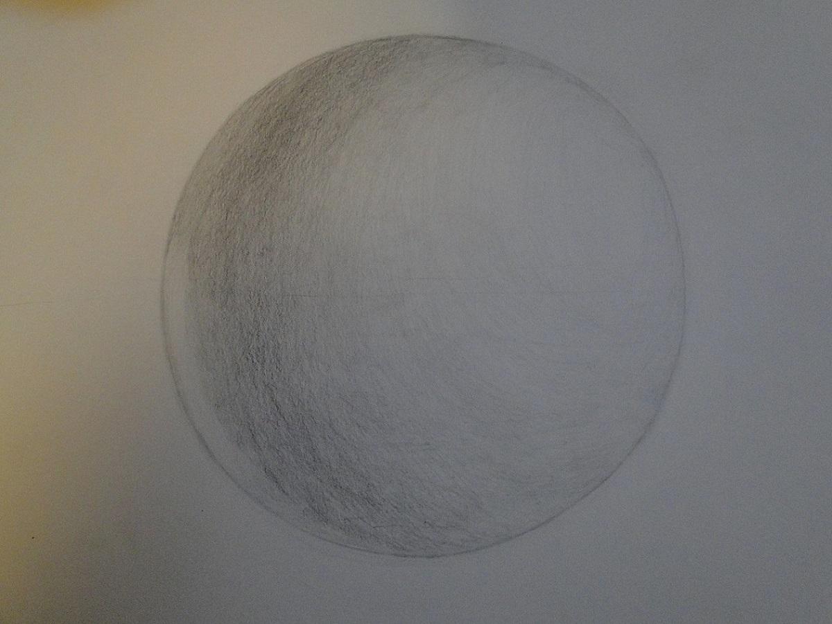 球体の石膏