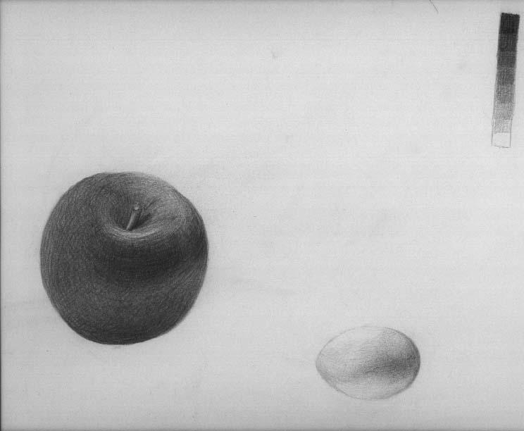 林檎と卵1