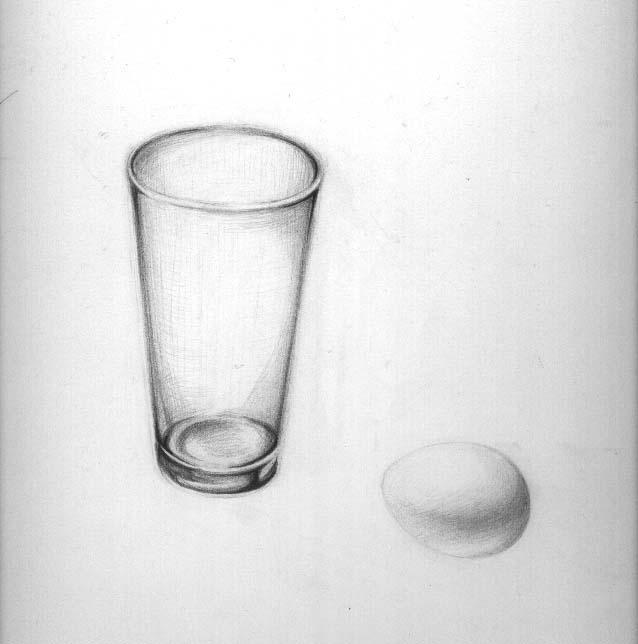 グラスと卵1