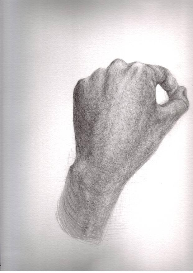 Re: 自分の手。
