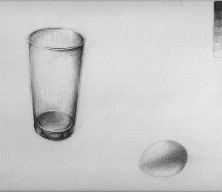 グラスと卵2