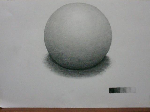 トーンで球体を描く2