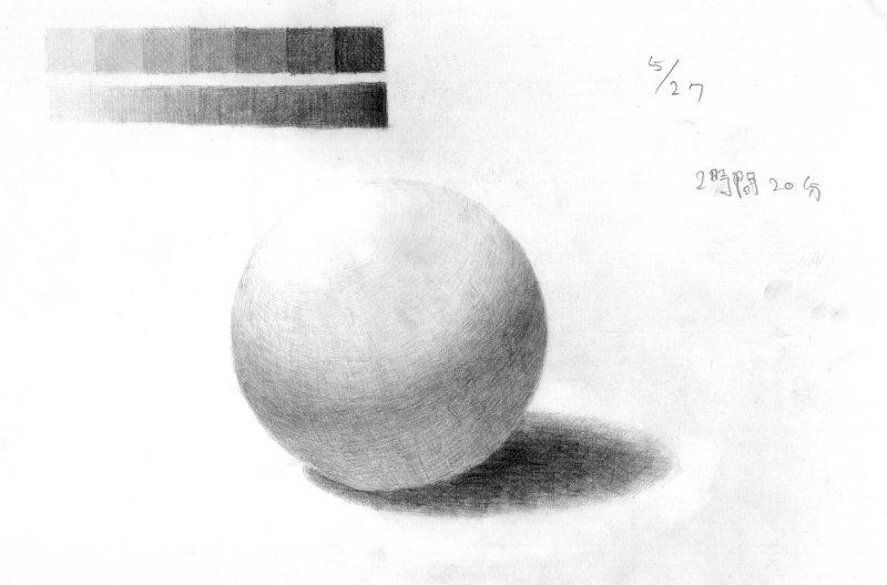 球の想定描写2