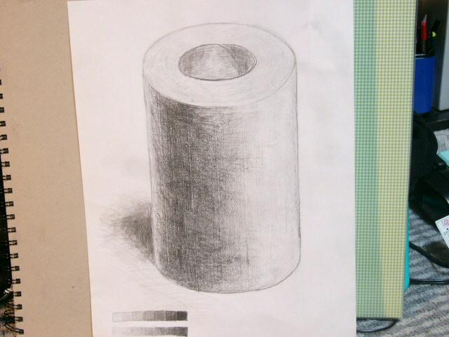 トイレットペーパー(使用済み)