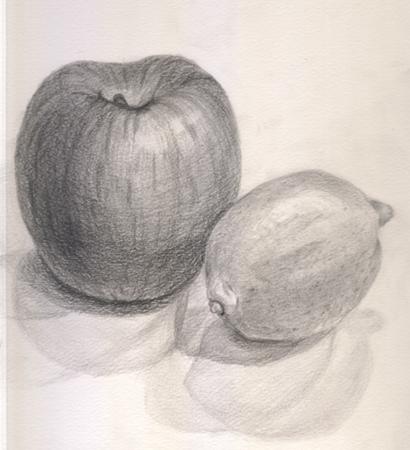 リンゴとレモン