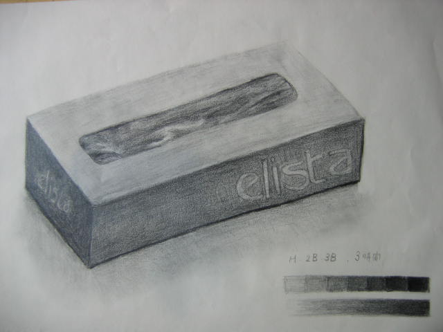 ティッシュペーパーの箱