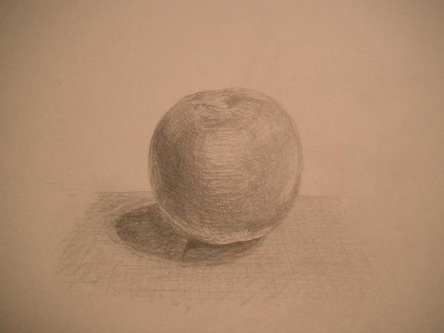 石膏リンゴです。