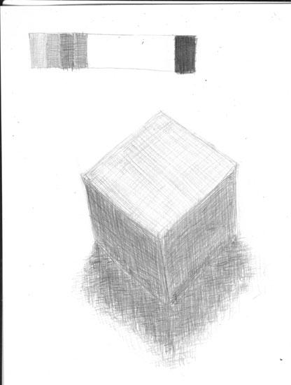幾何立体模型(立方体)