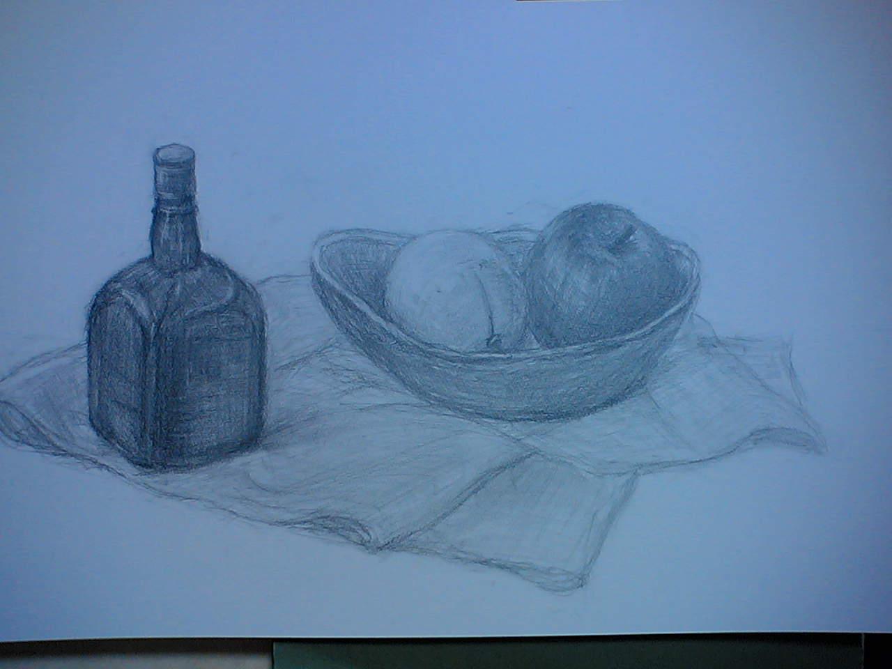 果物とボトル