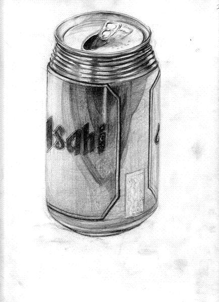 アサヒの缶