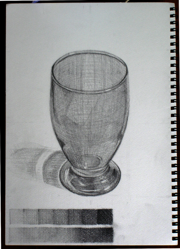 ガラスのコップ2