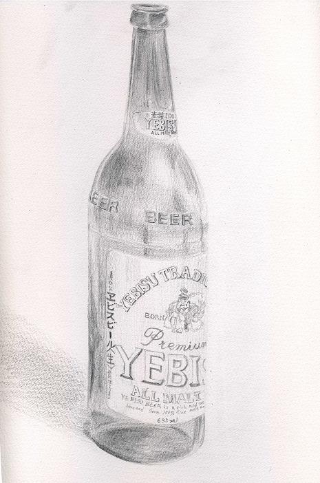 エビスビール瓶