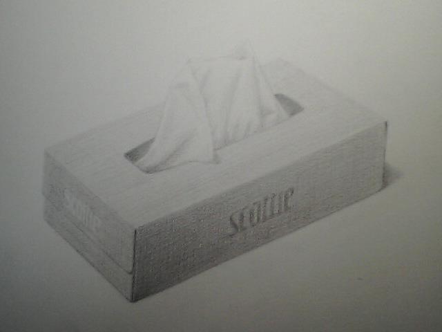 ティッシュの箱