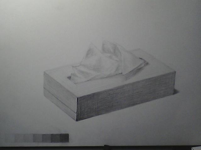 ティッシュの箱2
