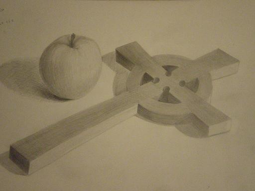 林檎と十字架