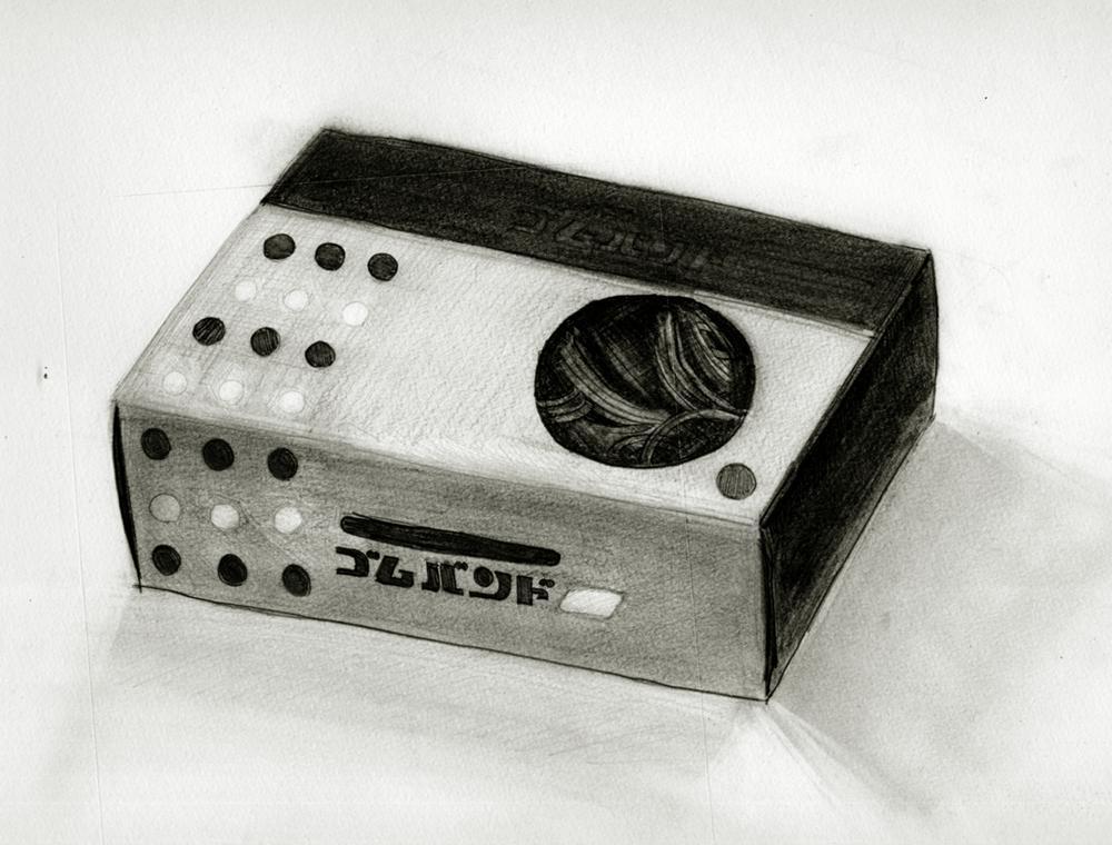 ゴムバンドの箱