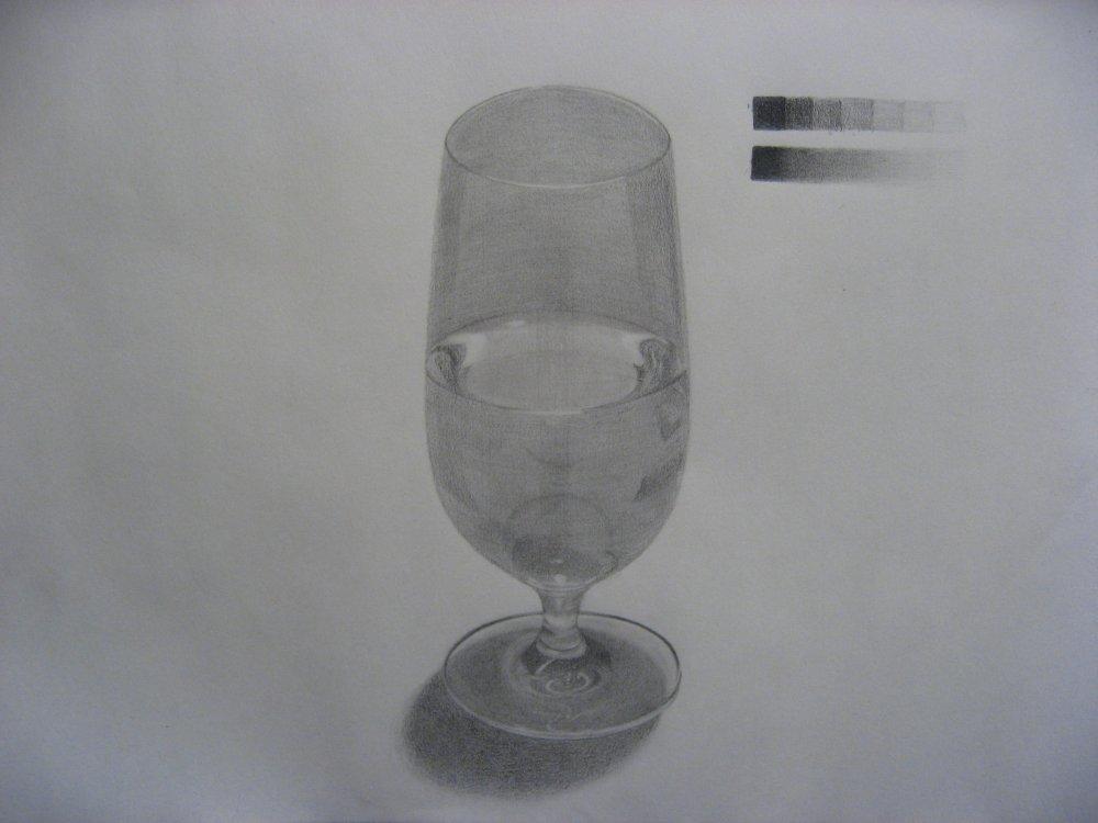 ガラスのビアグラス