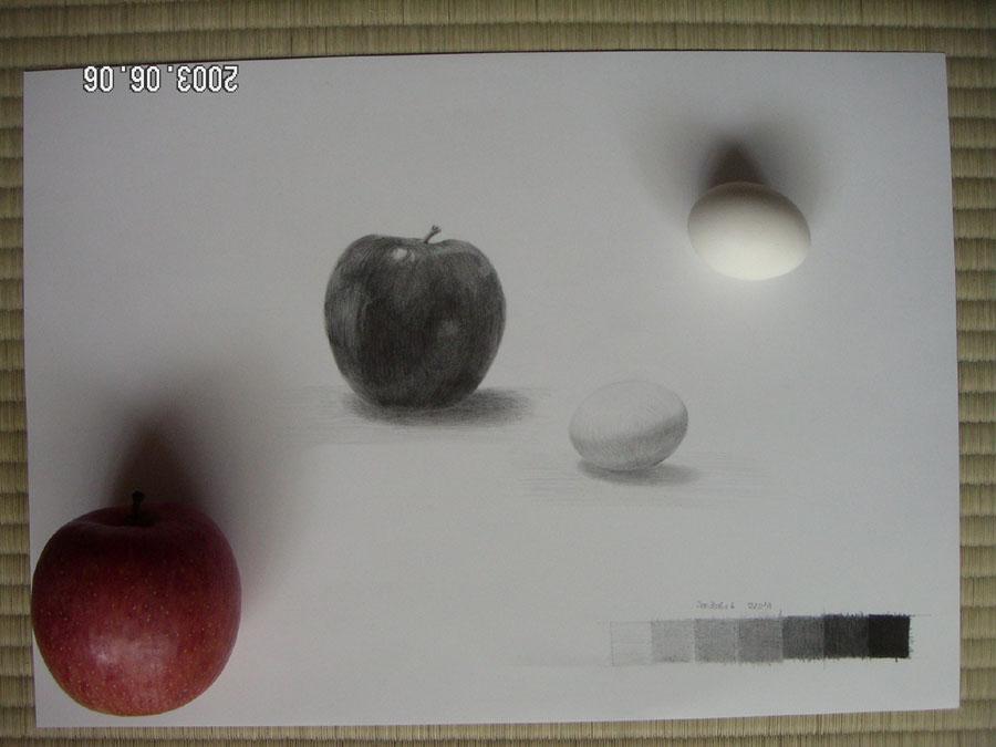 りんごと卵01
