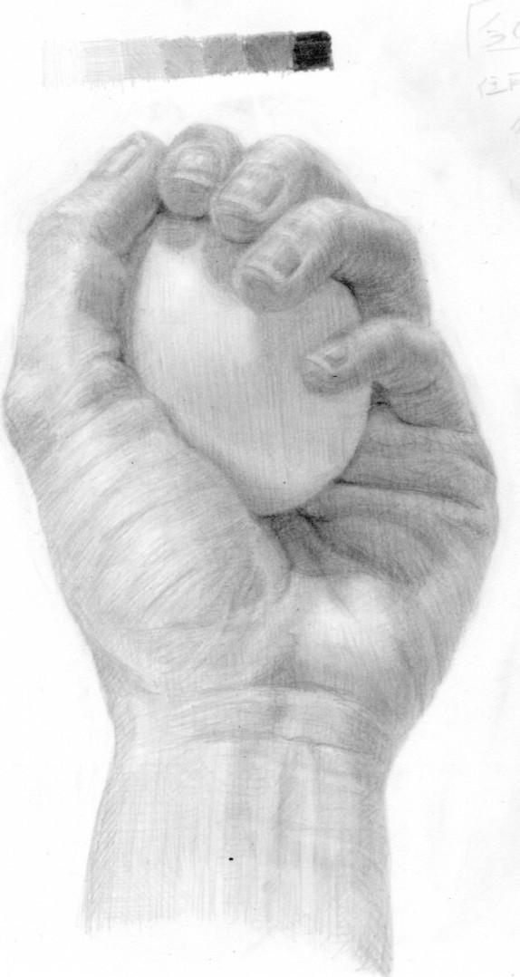 Re: 手と卵
