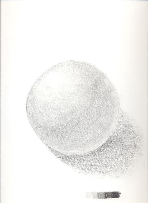 想定描写-球
