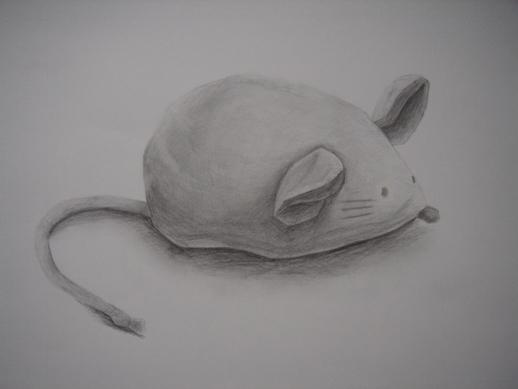 ネズミのぬいぐるみ