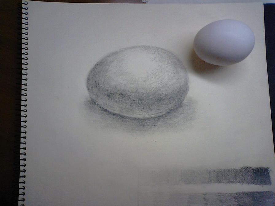 卵デッサン