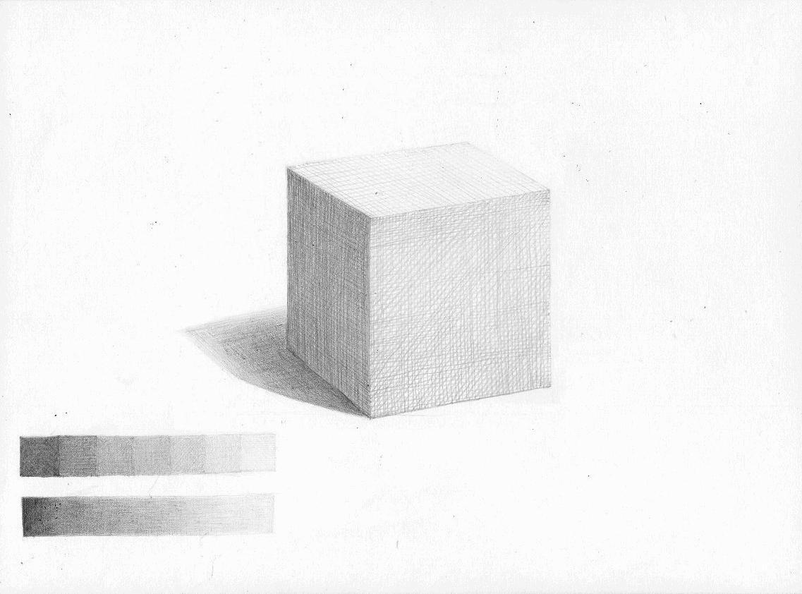 紙で作った立方体3