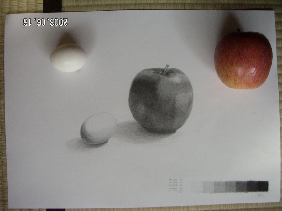 リンゴと卵03
