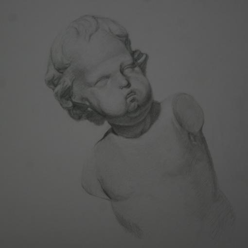 幼児の頭部
