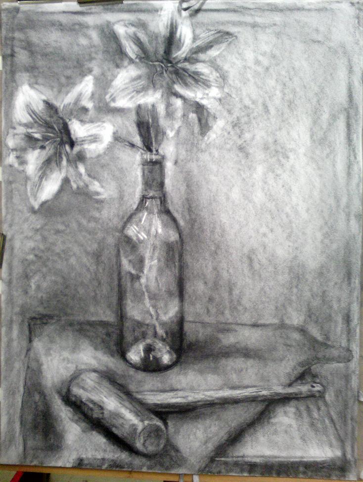 百合の花とカナヅチ