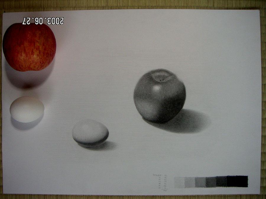 リンゴと卵04
