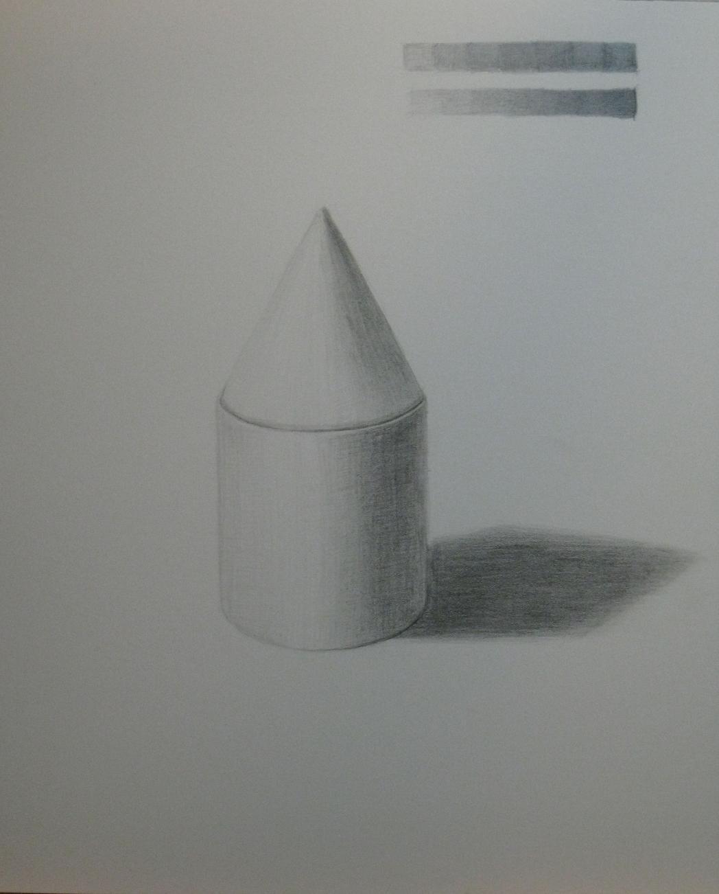 円柱と円錐