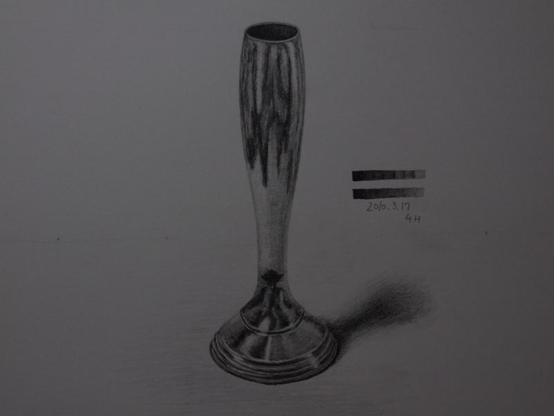 金属製の花器