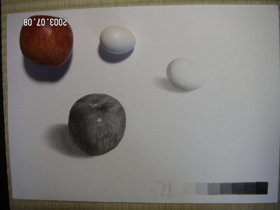 リンゴと卵05