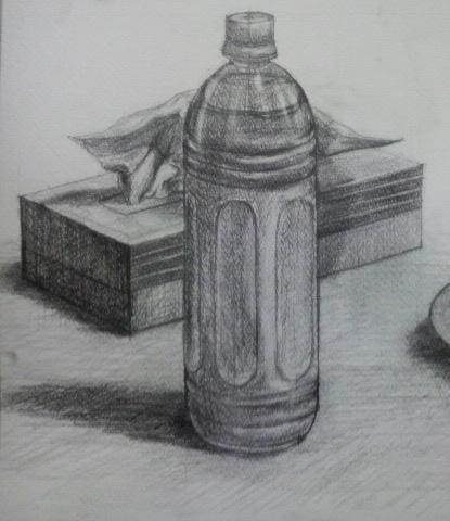 ティッシュ箱、ペットボトル