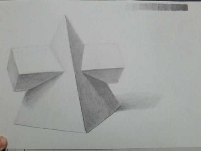 四角錐と四角柱