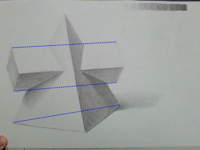 Re: 四角錐と四角柱