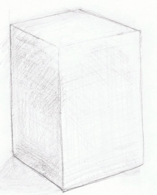 四角い箱(白)