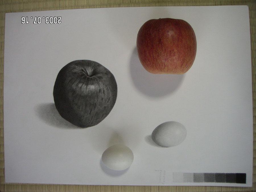 リンゴと卵06