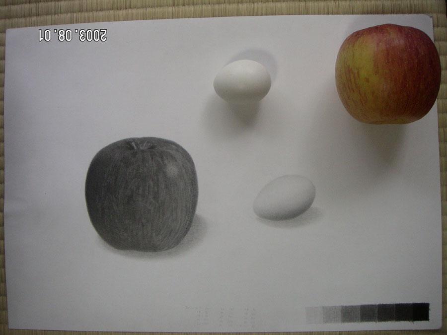 リンゴと卵07