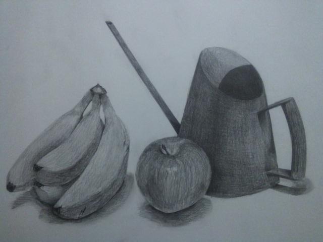 ばななと林檎とジョウロ
