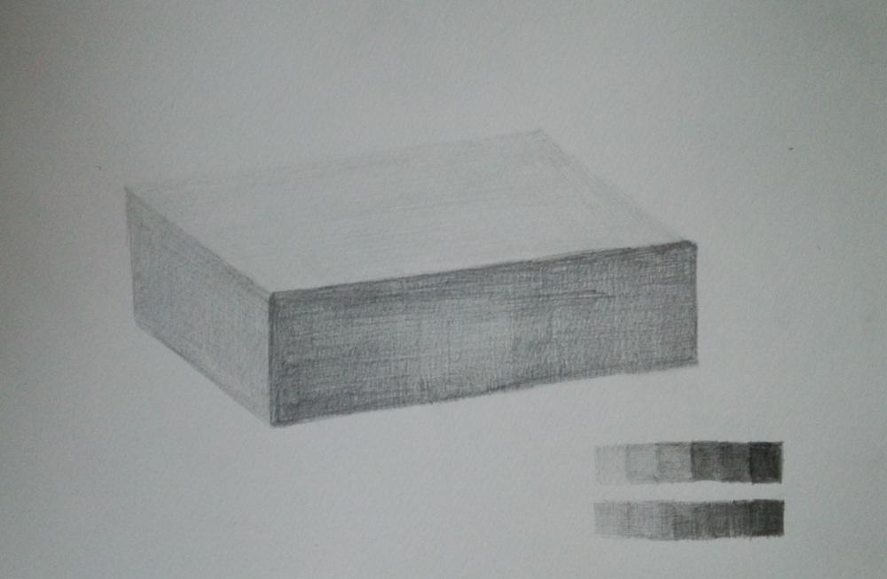 ティッシュを白い紙で包んだ長方形